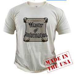Master of Information T-shirt