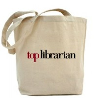 librarian canvas bag